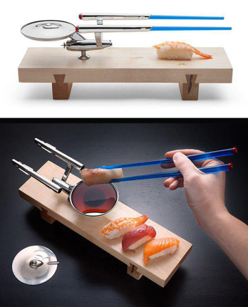 Enterprise NCC-1701 Sushi set
