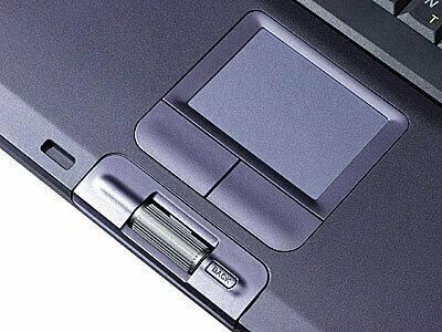 Sony Jog Dial on a Vaio laptop.