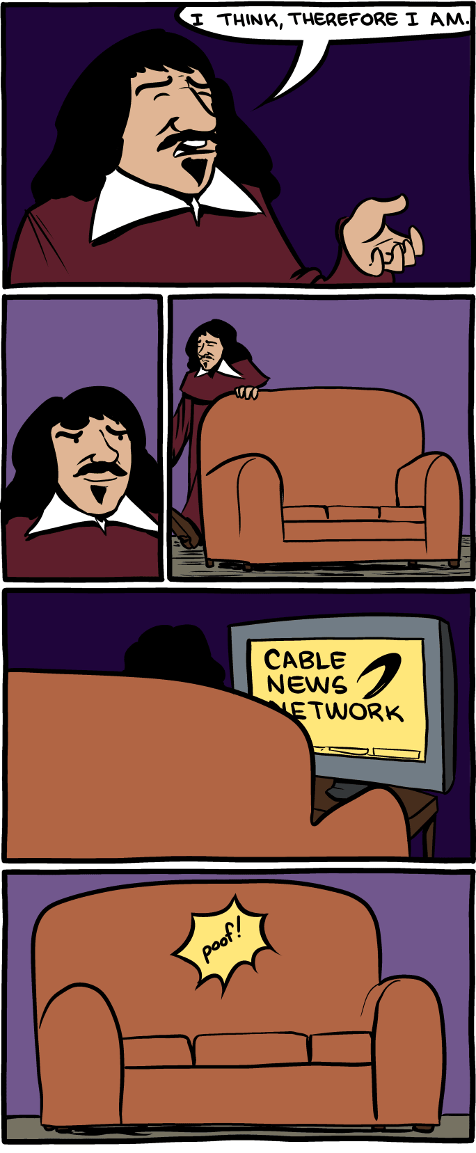 I think therefore I am on SMBC