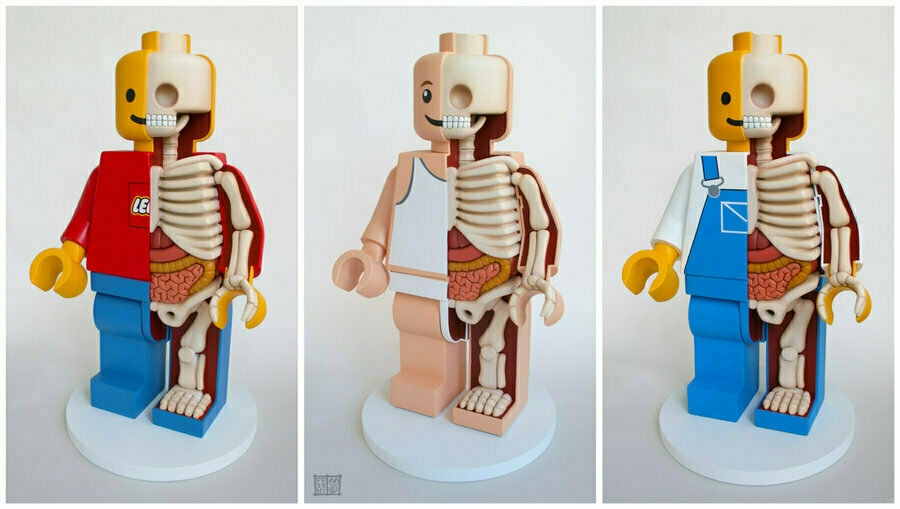 LEGO by Jason Freeny